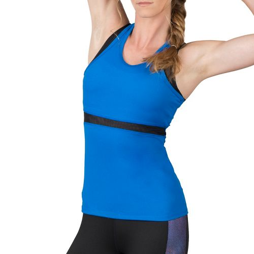 Womens Soybu Koa Sleeveless & Tank Technical Tops - Led Blue XL