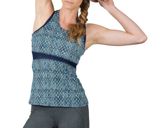 Womens Soybu Koa Sleeveless & Tank Technical Tops - Blue Arrow XL