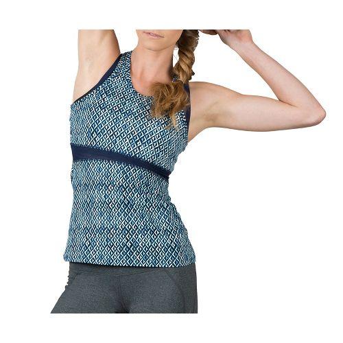 Womens Soybu Koa Sleeveless & Tank Technical Tops - Blue Arrow XL