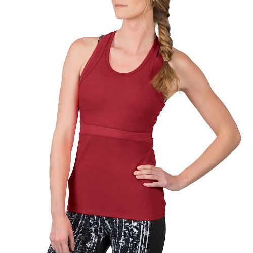 Womens Soybu Koa Sleeveless & Tank Technical Tops - Syrah M