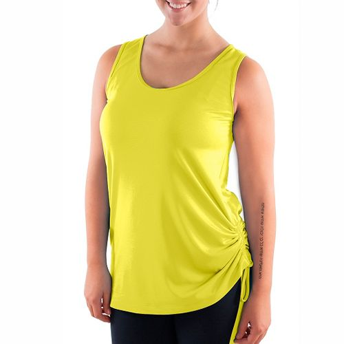 Katie K Signature Sleeveless & Tank Technical Tops - Citrus L