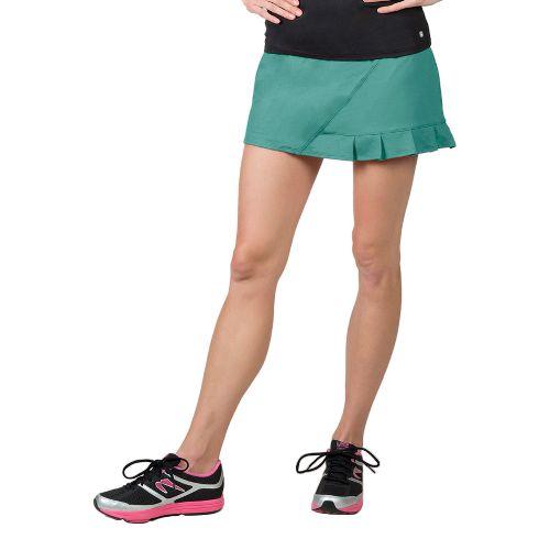 Womens Soybu Jayla Skorts Fitness Skirts - Watercress L