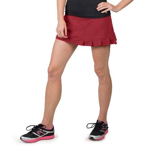 Womens Soybu Jayla Skorts Fitness Skirts - Syrah L