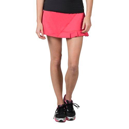 Womens Soybu Jayla Skorts Fitness Skirts - Sugar XL