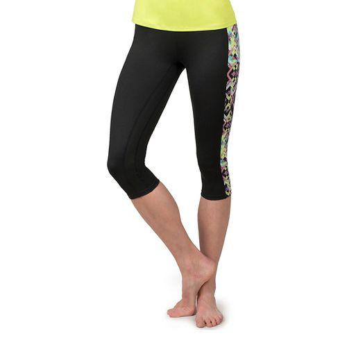 Womens Soybu Toni Capris Pants - Reflect XL