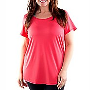 Katie K Signature Tunic Tee Short Sleeve Technical Tops
