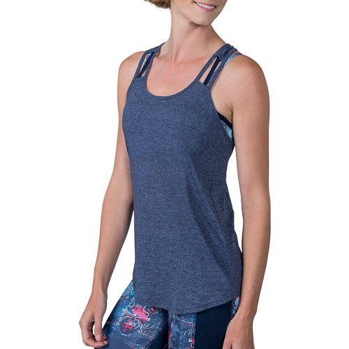 Womens Soybu Debbie Sleeveless & Tank Technical Tops - Admiral L