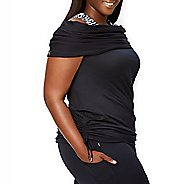 Katie K Signature Cowl Neck Sleeveless & Tank Technical Tops