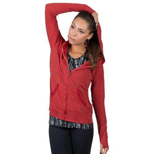 Womens Soybu Wendy Hoodie & Sweatshirts Technical Tops - Syrah S