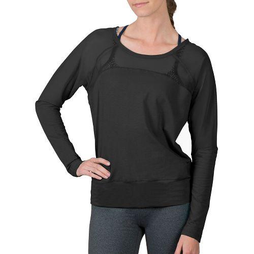 Womens Soybu Suzette Dolman Hoodie & Sweatshirts Technical Tops - Black XL