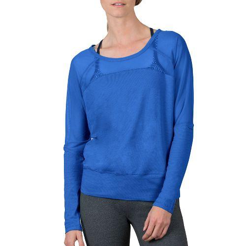 Womens Soybu Suzette Dolman Hoodie & Sweatshirts Technical Tops - Led Blue S