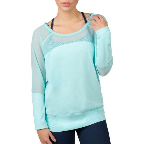 Womens Soybu Suzette Dolman Hoodie & Sweatshirts Technical Tops - Seaport XXL