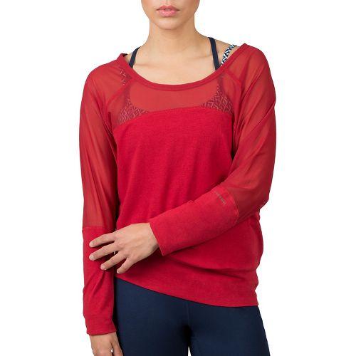 Womens Soybu Suzette Dolman Hoodie & Sweatshirts Technical Tops - Syrah XL