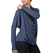 Womens Soybu Shelby Wrap Long Sleeve Non-Technical Tops
