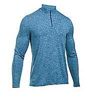 Mens Under Armour Power 1/4 Zip Long Sleeve Technical Tops
