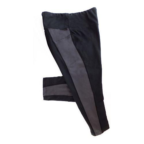 Katie K Rush-hour Capris Pants - Black/Grey L