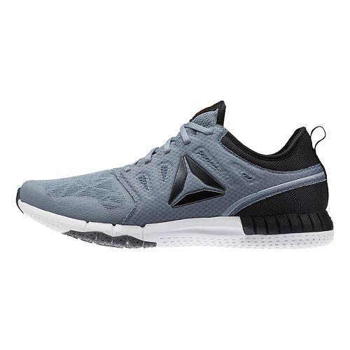 Mens Reebok ZPrint 3D Running Shoe - Grey/Black 11.5