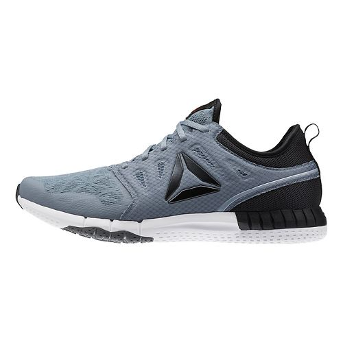 Mens Reebok ZPrint 3D Running Shoe - Grey/Black 12