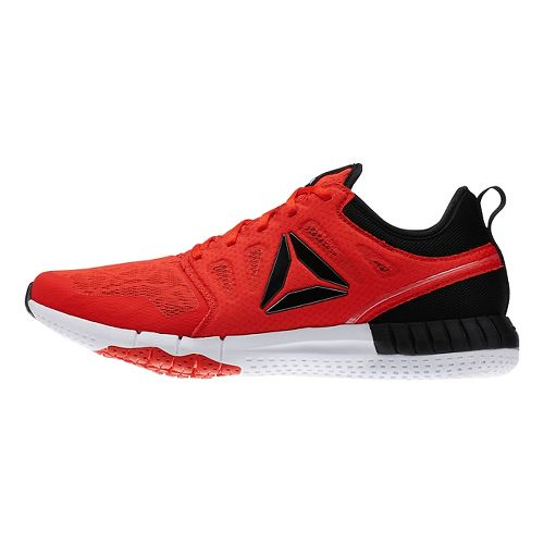 Mens Reebok ZPrint 3D Running Shoe - Red/Black 12.5