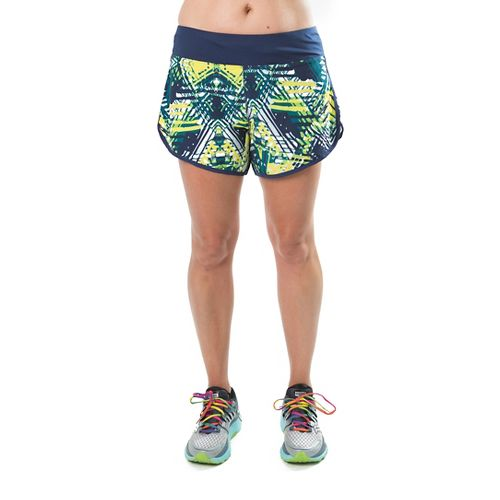 Katie K Rush-hour Lined Shorts - Citrus Palm 2X