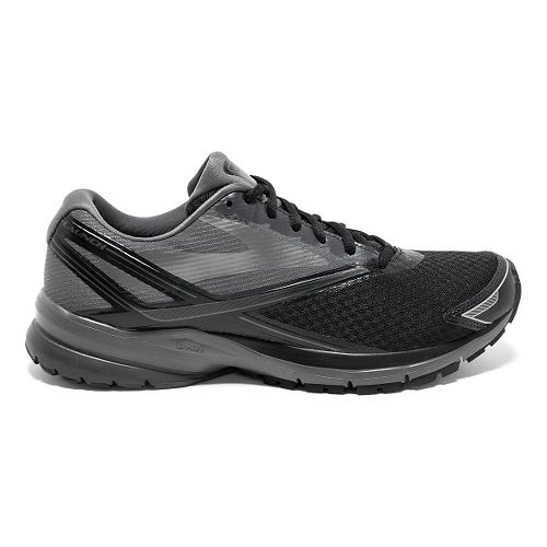 Mens Brooks Launch 4 Running Shoe - Black/Anthracite 8.5