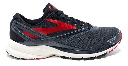 Mens Brooks Launch 4 Running Shoe - Anthracite/Black 11