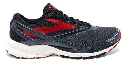 Mens Brooks Launch 4 Running Shoe - Anthracite/Black 12