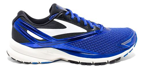 Mens Brooks Launch 4 Running Shoe - Blue/Black 8.5