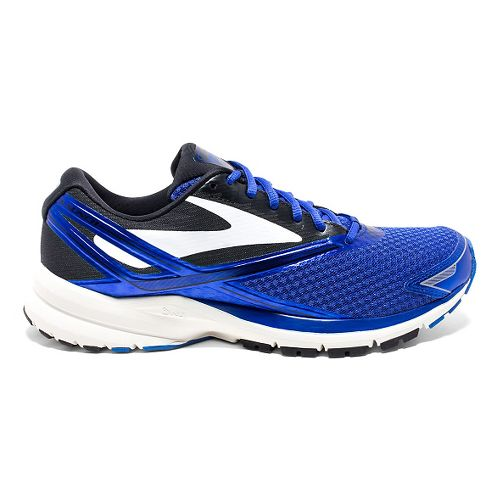 Mens Brooks Launch 4 Running Shoe - Blue/Black 9.5