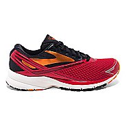 Mens Brooks Launch 4 Running Shoe - High Risk Red/Black 11.5