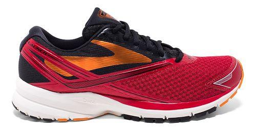 Mens Brooks Launch 4 Running Shoe - High Risk Red/Black 9.5