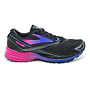 Womens Brooks Launch 4 Running Shoe - Black/Fuchsia Purple 9