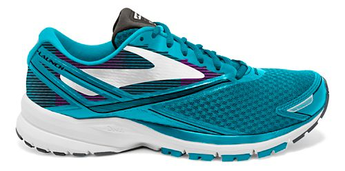 Womens Brooks Launch 4 Running Shoe - Teal/White 8