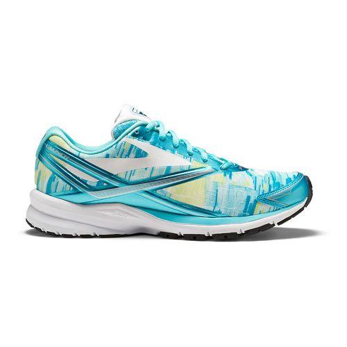 Womens Brooks Launch 4 Running Shoe - Kasbah Blue Radiance 7