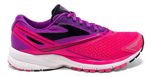 Womens Brooks Launch 4 Running Shoe - Purple Cactus Flower 9