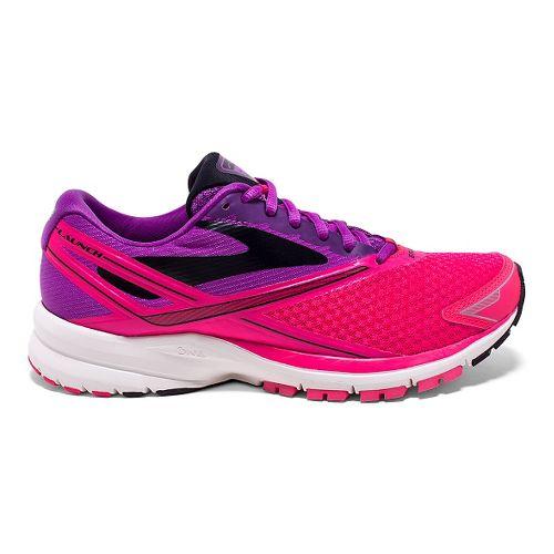 Womens Brooks Launch 4 Running Shoe - Purple Cactus Flower 10