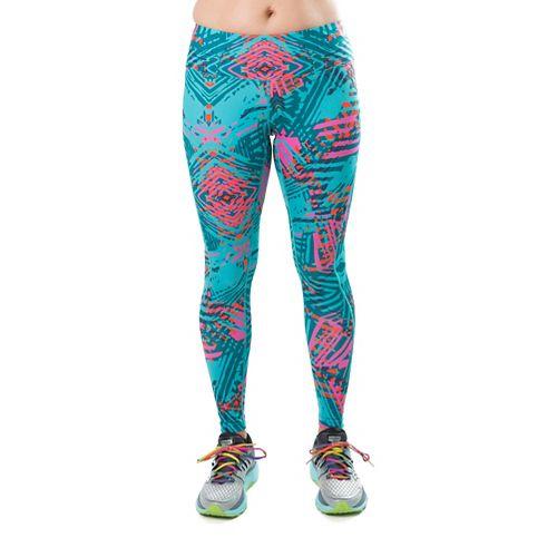 Katie K Rush-hour Tights & Leggings Pants - Aqua Palm S
