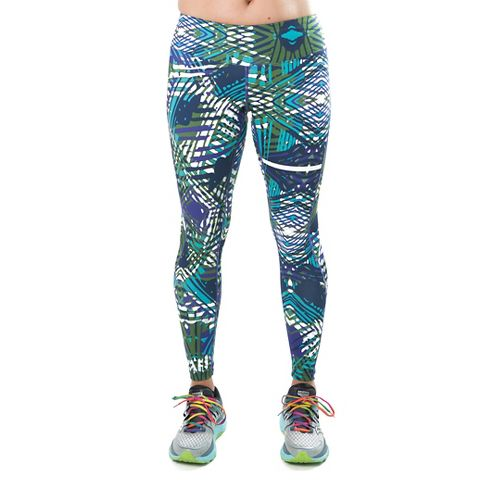 Katie K Rush-hour Tights & Leggings Pants - Violet Palm L