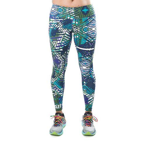 Katie K Rush-hour Tights & Leggings Pants - Violet Palm M