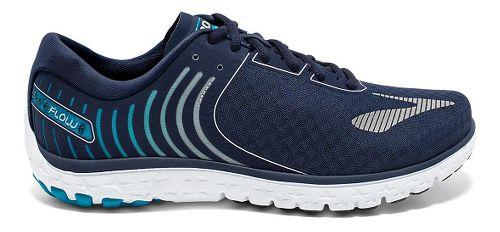 Mens Brooks PureFlow 6 Running Shoe - Peacoat/Methyl Blue 14