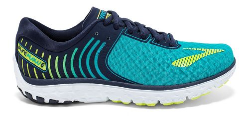 Womens Brooks PureFlow 6 Running Shoe - Bluebird/Peacoat 7