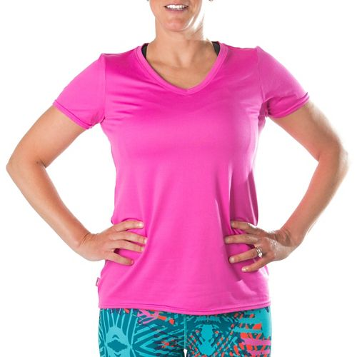 Katie K Rush-hour Tunic Tee Short Sleeve Technical Tops - Rose M
