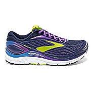Womens Brooks Transcend 4 Running Shoe - Peacoat/Purple 7