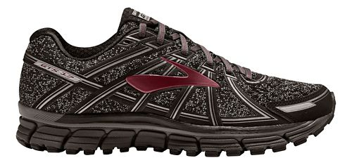 Mens Brooks Adrenaline GTS 17 Running Shoe - Charcoal/Port 10.5