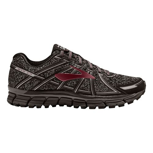 Mens Brooks Adrenaline GTS 17 Running Shoe - Charcoal/Port 10