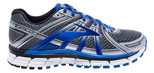 Mens Brooks Adrenaline GTS 17 Running Shoe - Anthracite/Blue 10