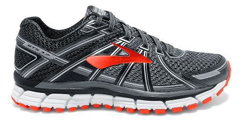 Mens Brooks Adrenaline GTS 17 Running Shoe - Black/Red 11.5