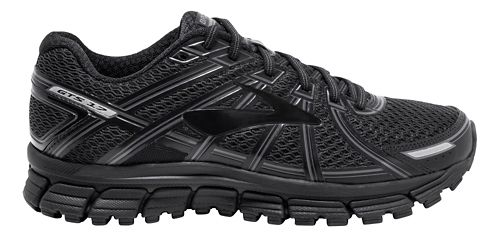 Mens Brooks Adrenaline GTS 17 Running Shoe - Black 14