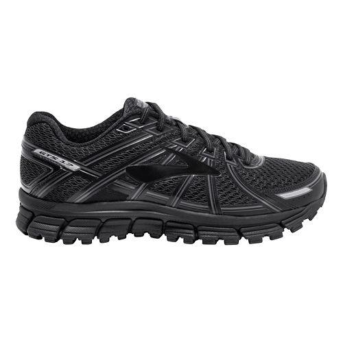 Mens Brooks Adrenaline GTS 17 Running Shoe - Black 8