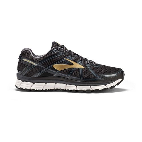 Mens Brooks Adrenaline GTS 17 Running Shoe - Black/Anthracite 11